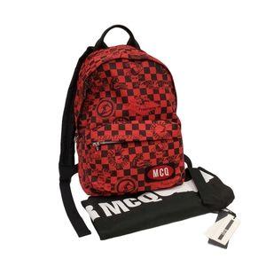 Alexander McQueen Red Backpack
